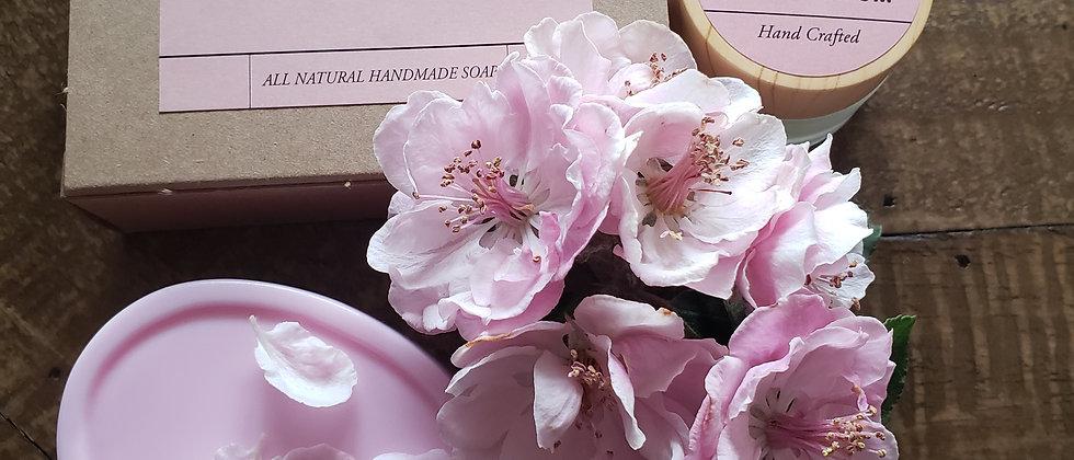 Cherry Blossom Solid Parfum & Soap Set