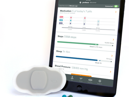 Proteus Digital Health And Otsuka Seek FDA Approval For World's First Digital Pill