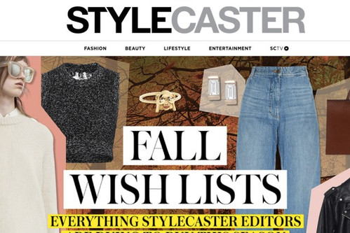 Stylecaster's Shopping Cart Gets Smart