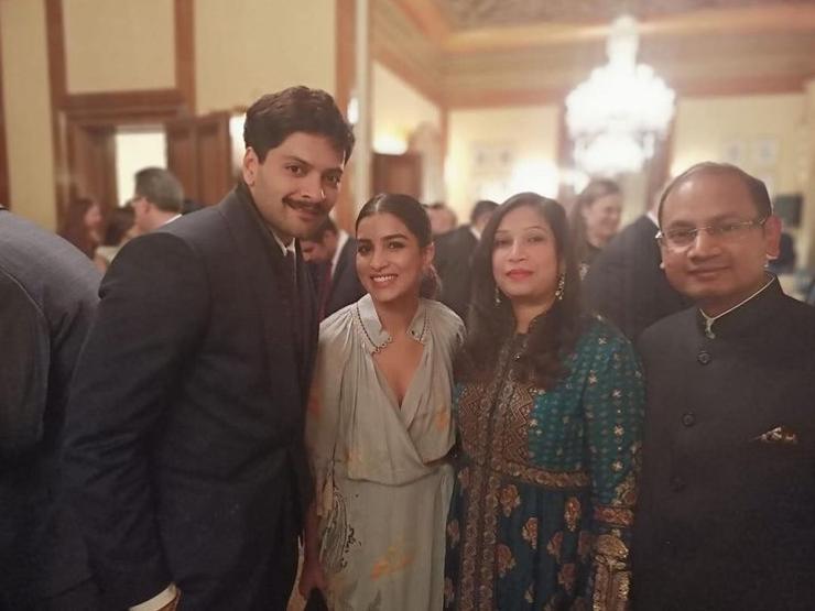 With Actor Mr Ali Fazal