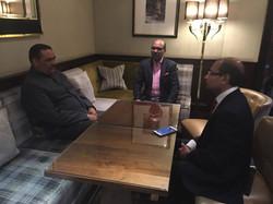 With Mr. Vijay Sampla