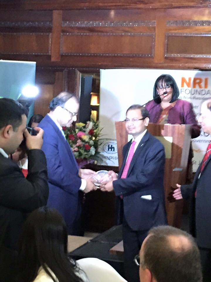 NRI foundation award