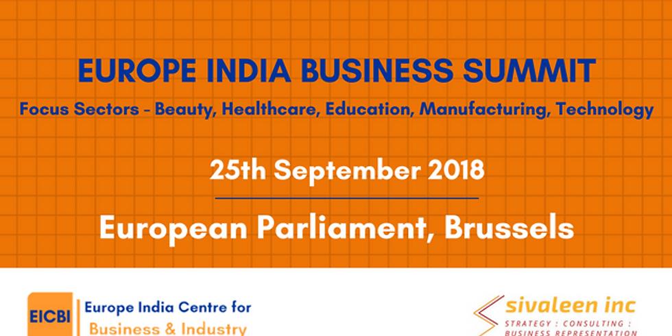 'Europe India Business Summit 2018'