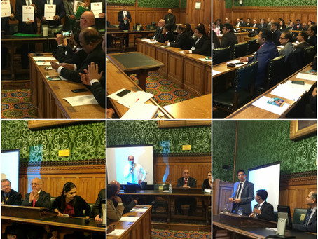 UK Karnataka Business Meet 2016 at UK Parliament, London