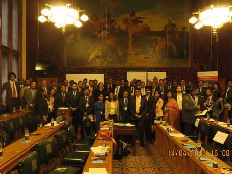 UK Tamil Nadu & Puducherry Business Meet 2016 at UK Parliament, London
