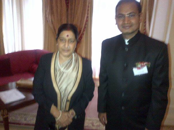 Indian minister sushma swaraj ji