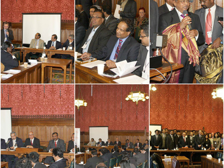 UK Tamil Nadu & Puducherry Business Meet 2013 at UK Parliament, London