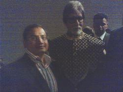 With Amitabh Bachchan