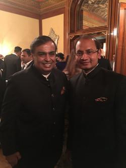 With Mukesh Ambani