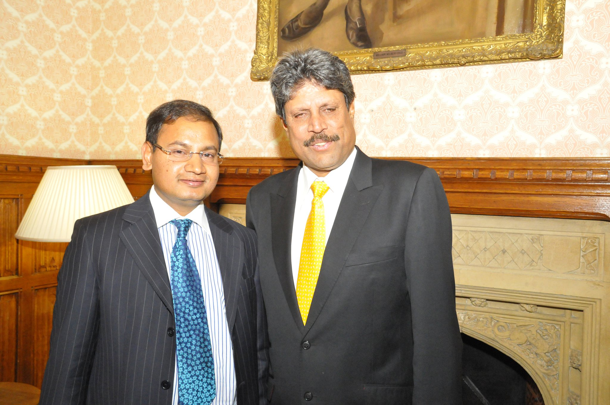 with Mr Kapil Dev in London