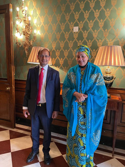 Interaction with Hon Amina J. Mohammed,