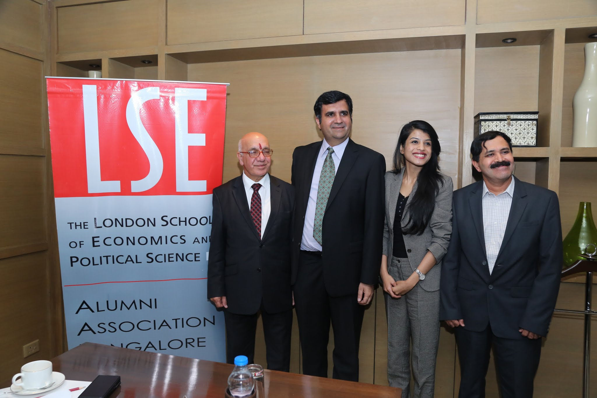 With LSE Alumnia assn Bangalore