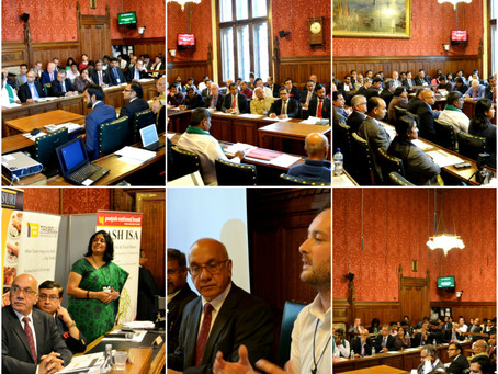 UK Karnataka Business Meet 2014 at UK Parliament, London