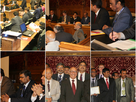 UK South India Business Meet 2013 at UK Parliament, London