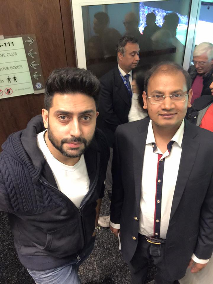 With Mr.Abhishek Bachchan