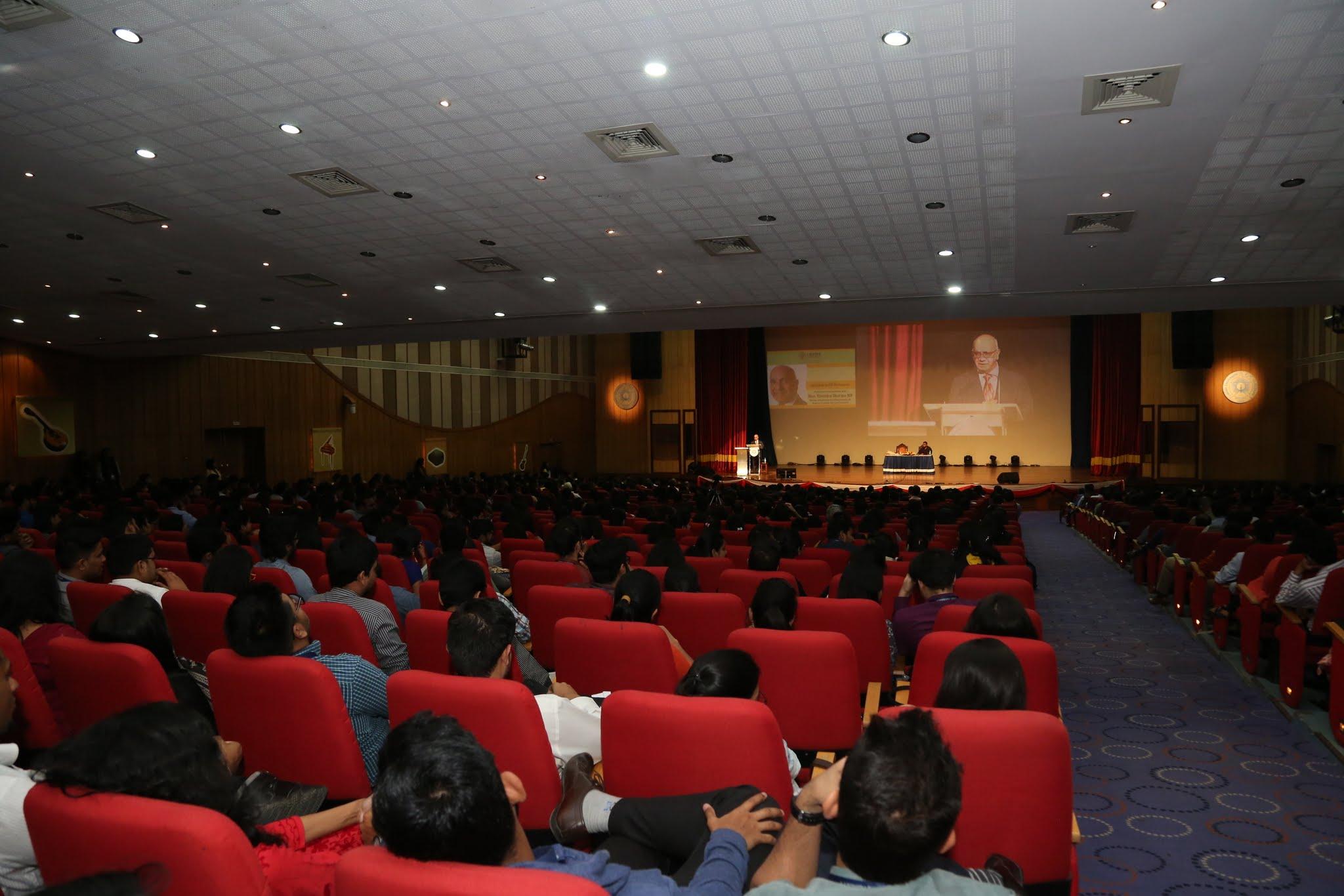 Christ University talk
