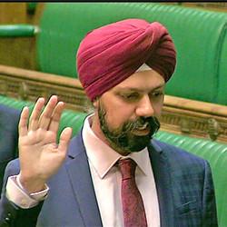 Mr Tanmanjeet Singh Dhesi MP
