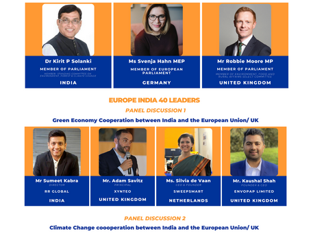 Green Economy & Climate Change Cooperation between India and the European Union/ UK