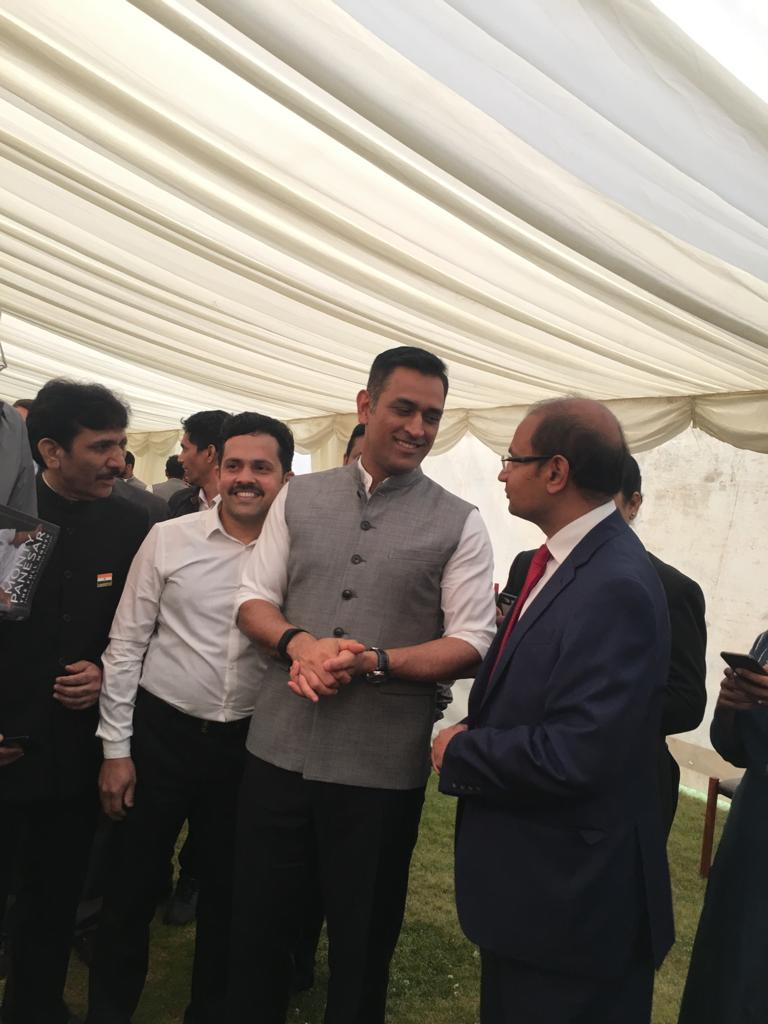 Interaction with Indian Cricket team