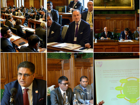 UK Business into Renewed India 2015 at UK Parliament, London