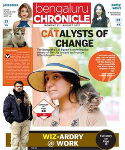 Deccan Chronicle Wiz-ardry @ work