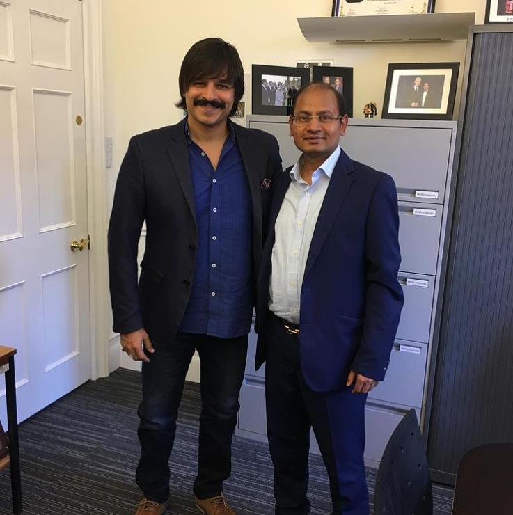 With Mr Vivek Oberoi