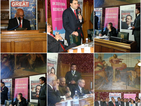 UK South India Business Meet 2012 at UK Parliament, London