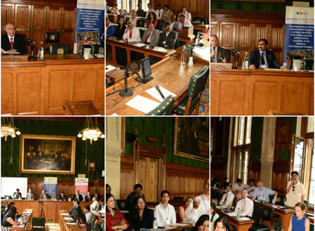 UK India Healthcare Summit 2016 at UK Parliament, London