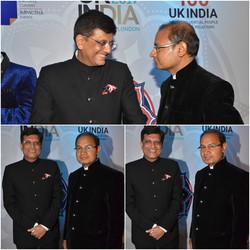 With India Minister Mr.Piyush Goyal