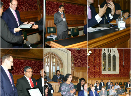 British South India Business Meet 2012 at UK Parliament, London