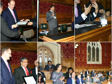British South India Business Meet 2012 at UK Parliament, London