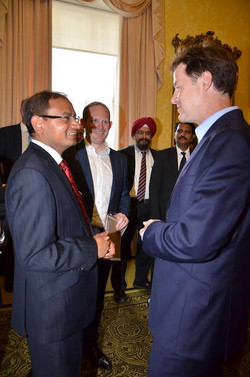 Deputy Prime Minister Mr Nick Clegg