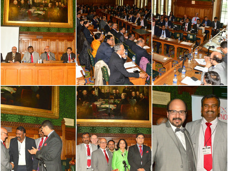 UK Tamil Nadu & Puducherry Business Meet 2014 at UK Parliament, London