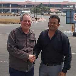 Welcoming Bob Blackman to Kerala
