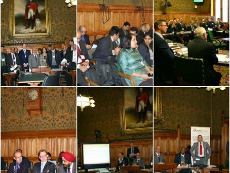 UK Karnataka Business Meet 2013 at UK Parliament, London