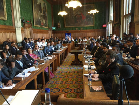 UK Telangana Business Meet 2015 at UK Parliament, London