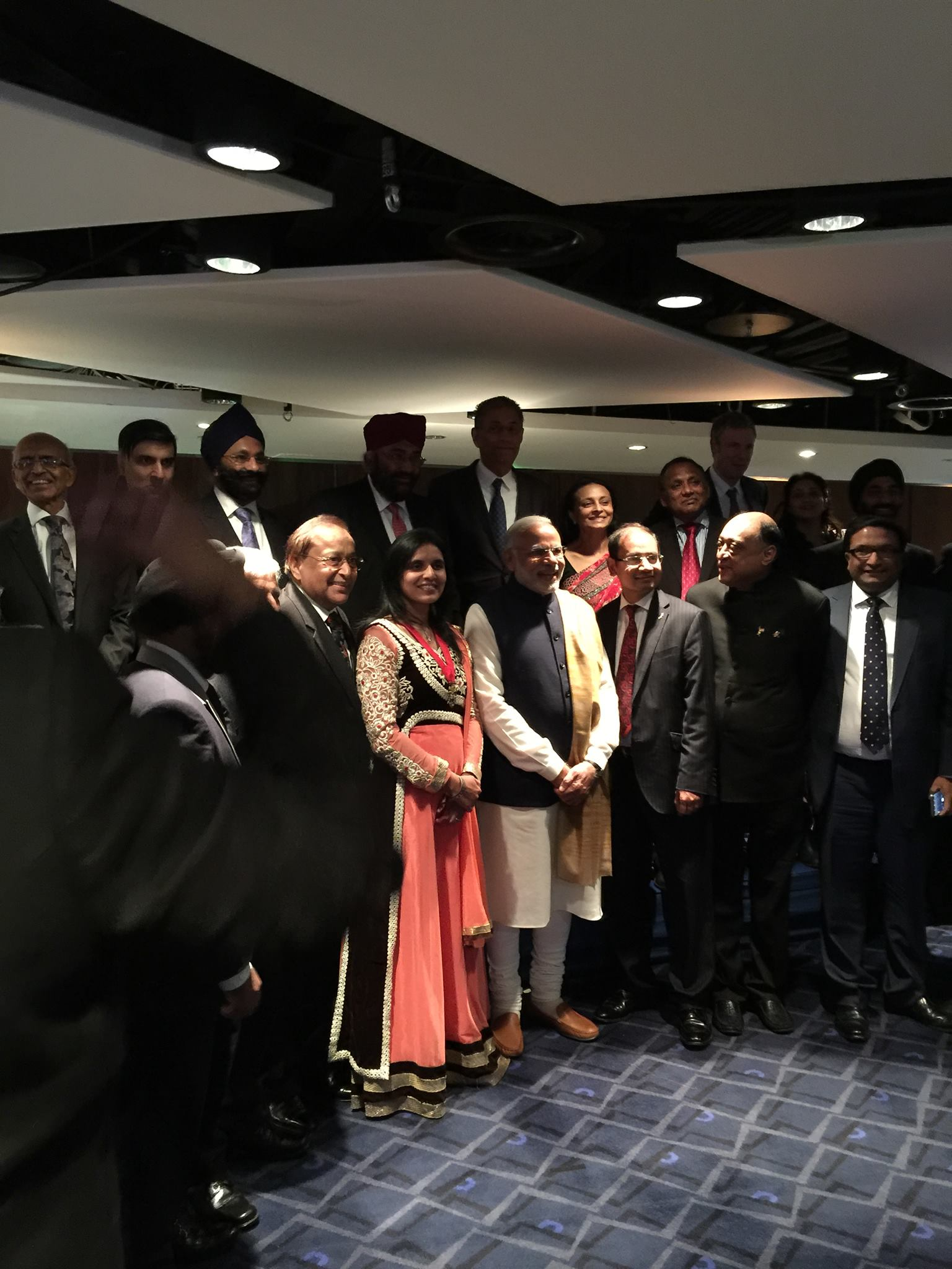 With Indian PM Mr.Narendra Modi