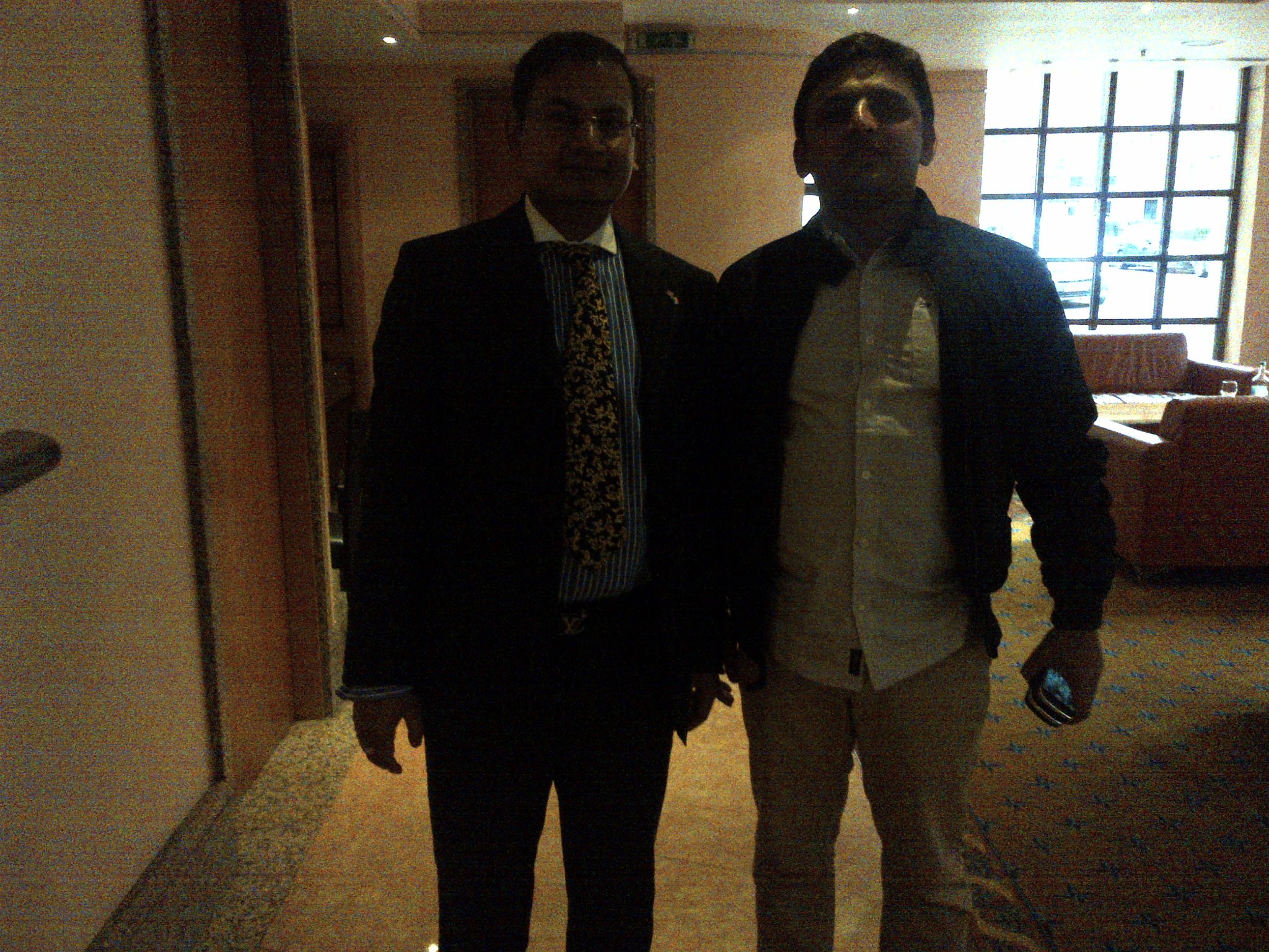 With Mr Akhilesh Yadav