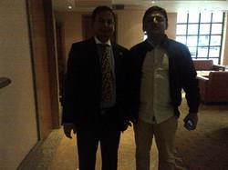 With Mr Akhilesh Yadav