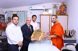 With His Holiness Jeeyar Swami