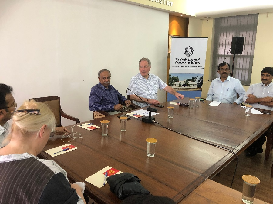 Interaction with Cochin Chambers
