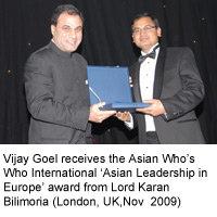 Asian Leadership in Europe Award