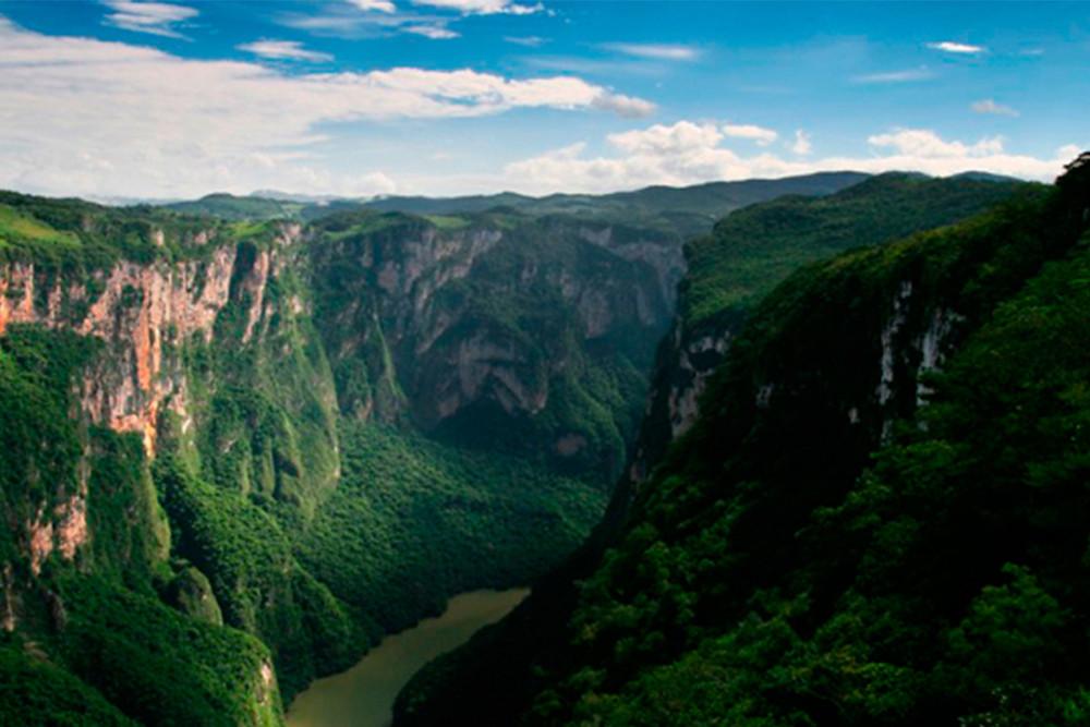 Cascada del sumidero/MéxicoViajes