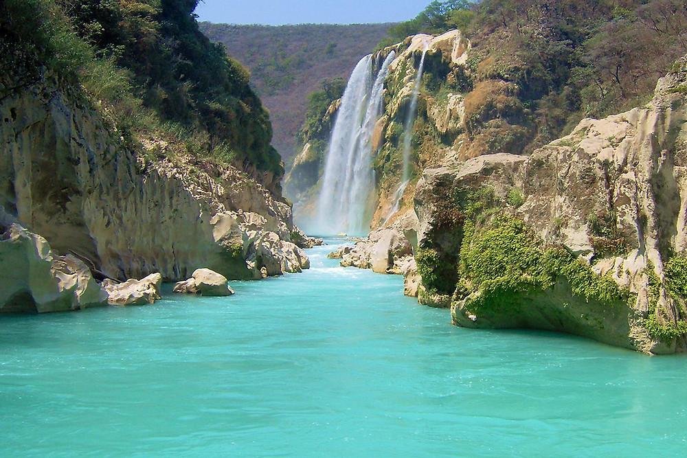 Cascada Tamul/MéxicoViajes
