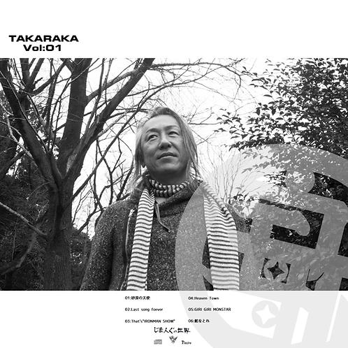 【宝歌 takaraka vol 01】JIMANG 1th Self cover album
