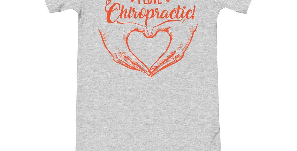 Love Chiropractic Onesie T-Shirt
