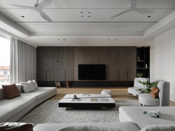 Family hall . Tv cabinet