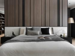 Master bedroom . bedhead