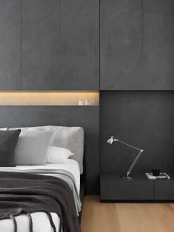 Bedroom 2 . Bedhead