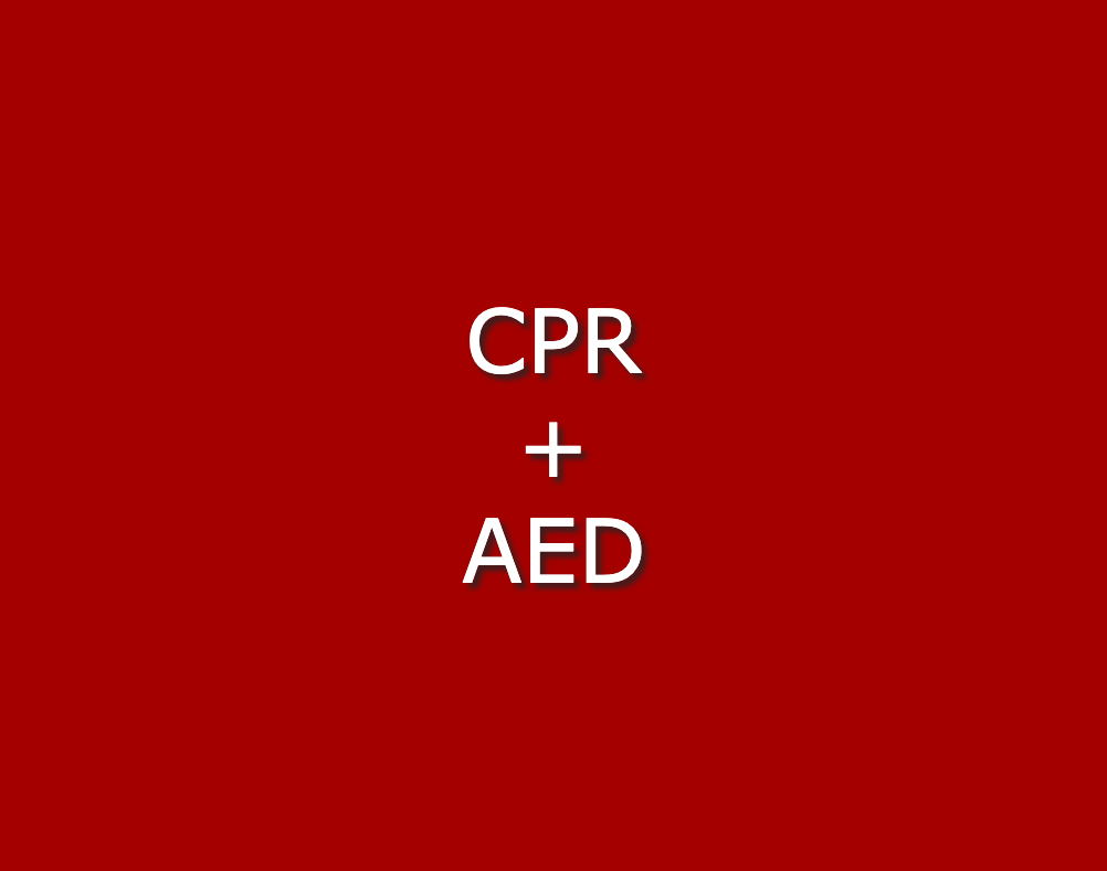 Initial Heartsaver CPR + AED